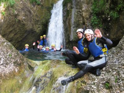Canyoning - soteskanje, Maya team
