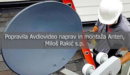 POPRAVILA AVDIOVIDEO NAPRAV, MILOŠ RAKIĆ S.P., LJUBLJANA