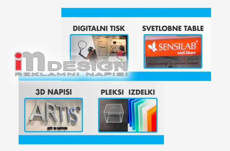 PLEXI STOJALA | PLEXI 3D ČRKE | IZDELKI IZ PLEKSI STEKLA