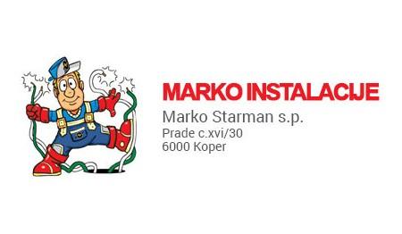 INSTALACIJE MARKO STARMAN S.P., KOPER