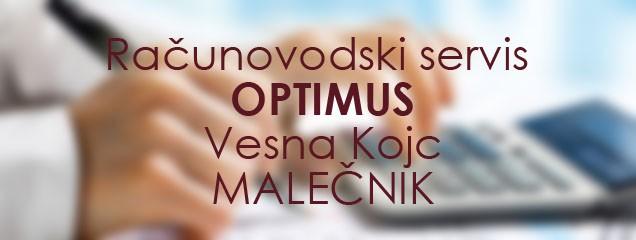 RAČUNOVODSKI SERVIS OPTIMUS, VESNA KOJC, MALEČNIK
