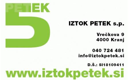 ELEKTRO STORITVE, IZTOK PETEK S.P., KRANJ