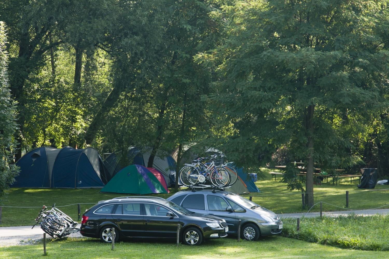 Kamp Labrca kolesarjenje v Tolminu