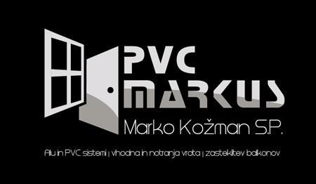PRODAJA IN MONTAŽA STAVBNEGA POHIŠTVA, PVC MARKUS MARKO KOŽMAN S.P., KAMNIK