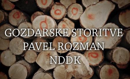 GOZDARSKE STORITVE PAVEL ROZMAN NDDK, TRŽIČ